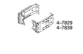 61 ⁄4–8 1⁄2 clearance brackets