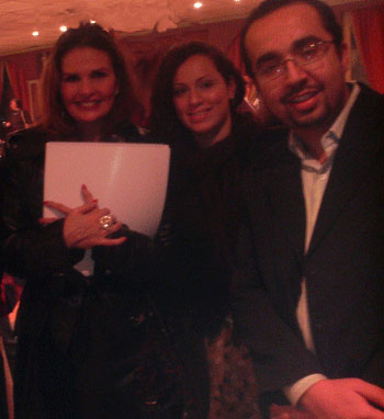دكتور اشرف صبري مع الممثلة المشهورة يسرا