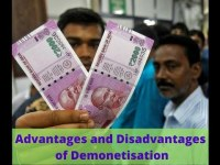 Disadvantages and Advantages of Demonetization