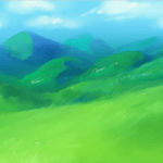 How To Digitally Paint A Background: Hills