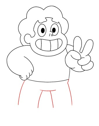 How To Draw Steven Universe Step 8