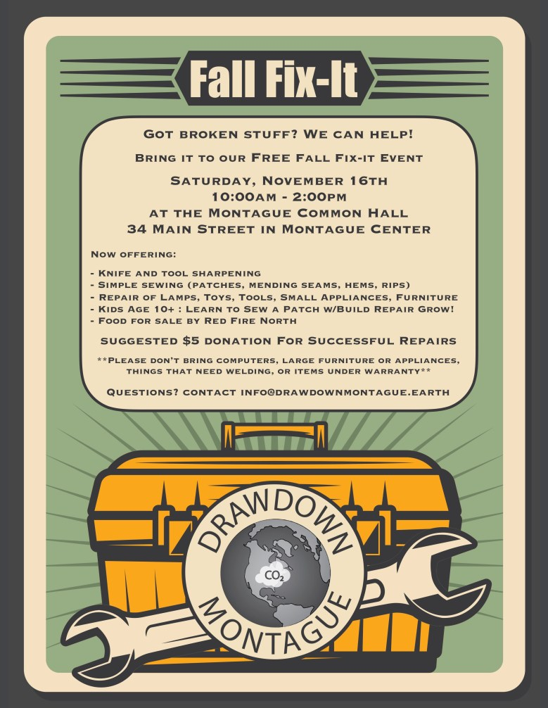 Fall Fix It Flyer