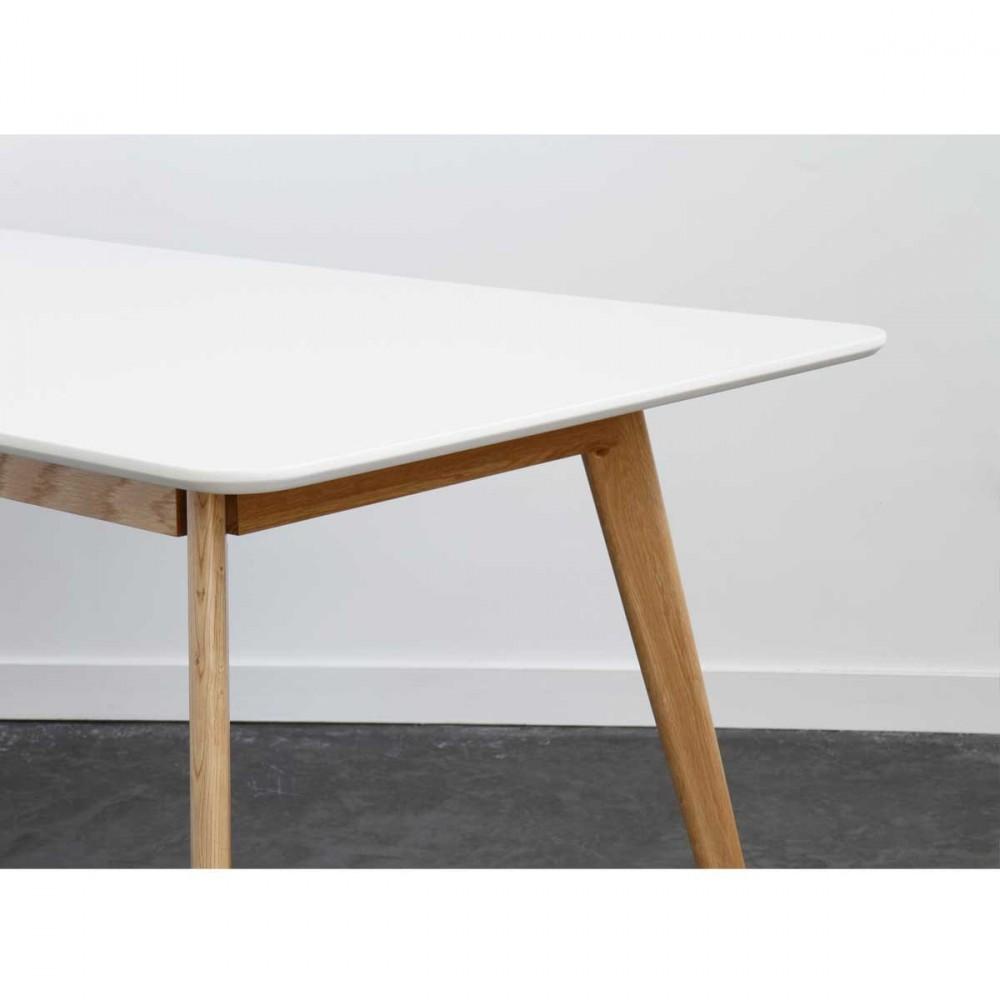 Table Manger Scandinave En Bois Skoll By Drawer