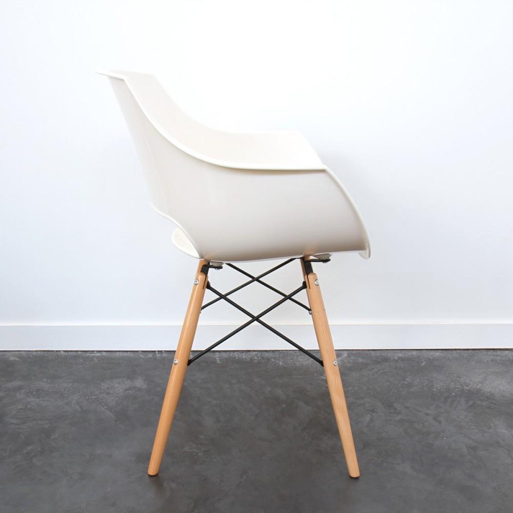 Chaise Designer Banche SKOLL Pitement Bois By Drawer