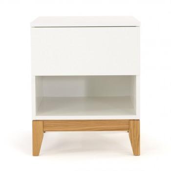 blanco table chevet design scandinave 1 niche