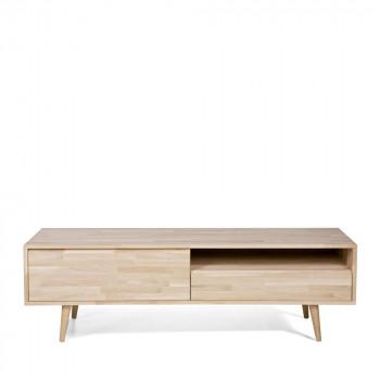tygo meuble tv scandinave chene massif