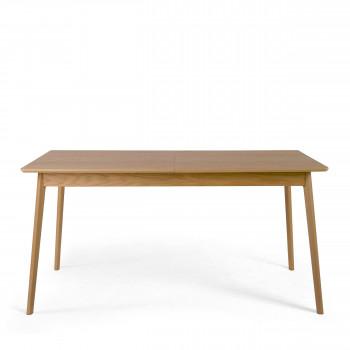 skoll table a manger extensible 150 200x80cm