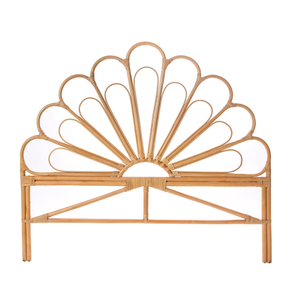 tete de lit design en rotin 160cm drawer singaraja