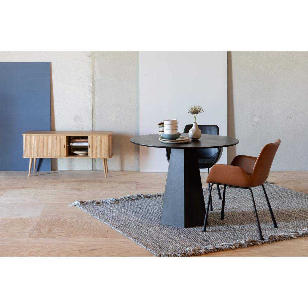 table a manger ronde o100cm zuiver pilar