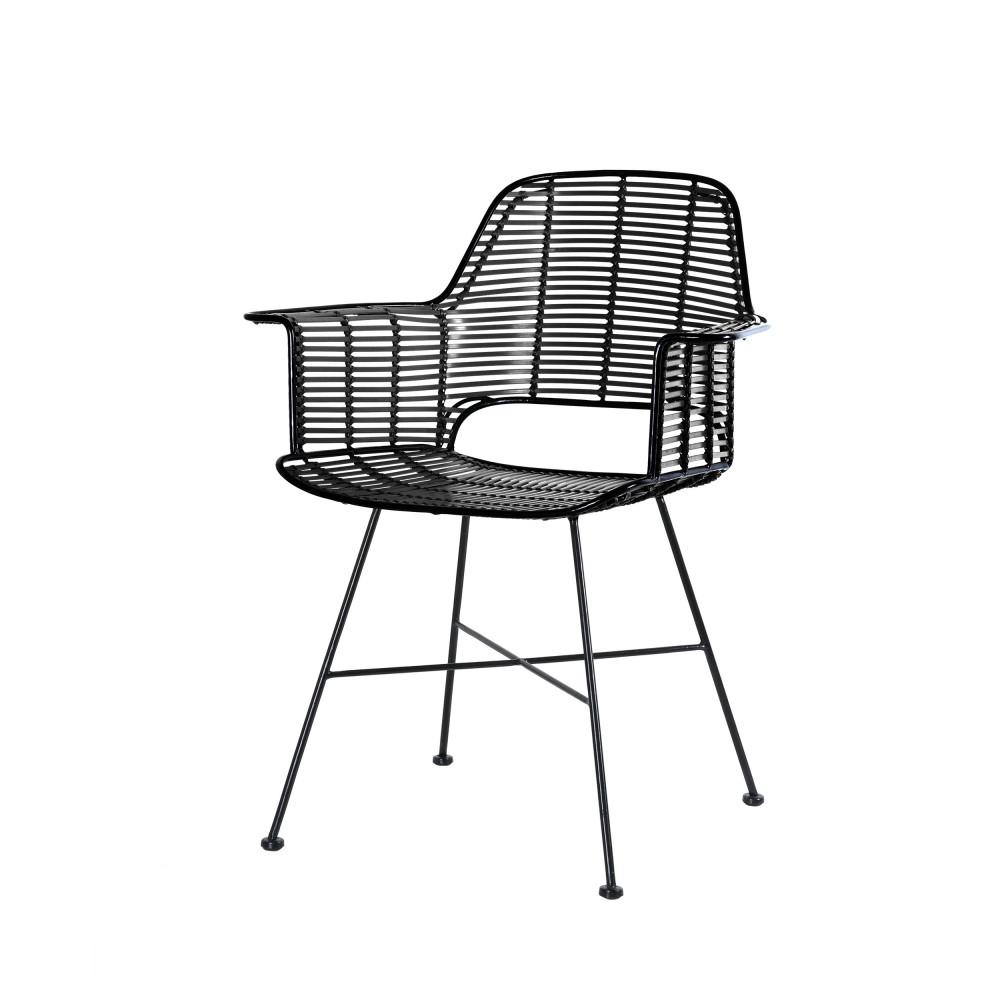 fauteuil de jardin design en resine hkliving cariaco