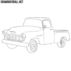 How to Draw a Chevy Truck | Drawingforall