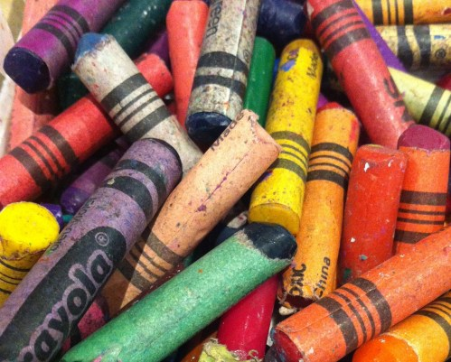 Drawing For Kids Crayons Detail