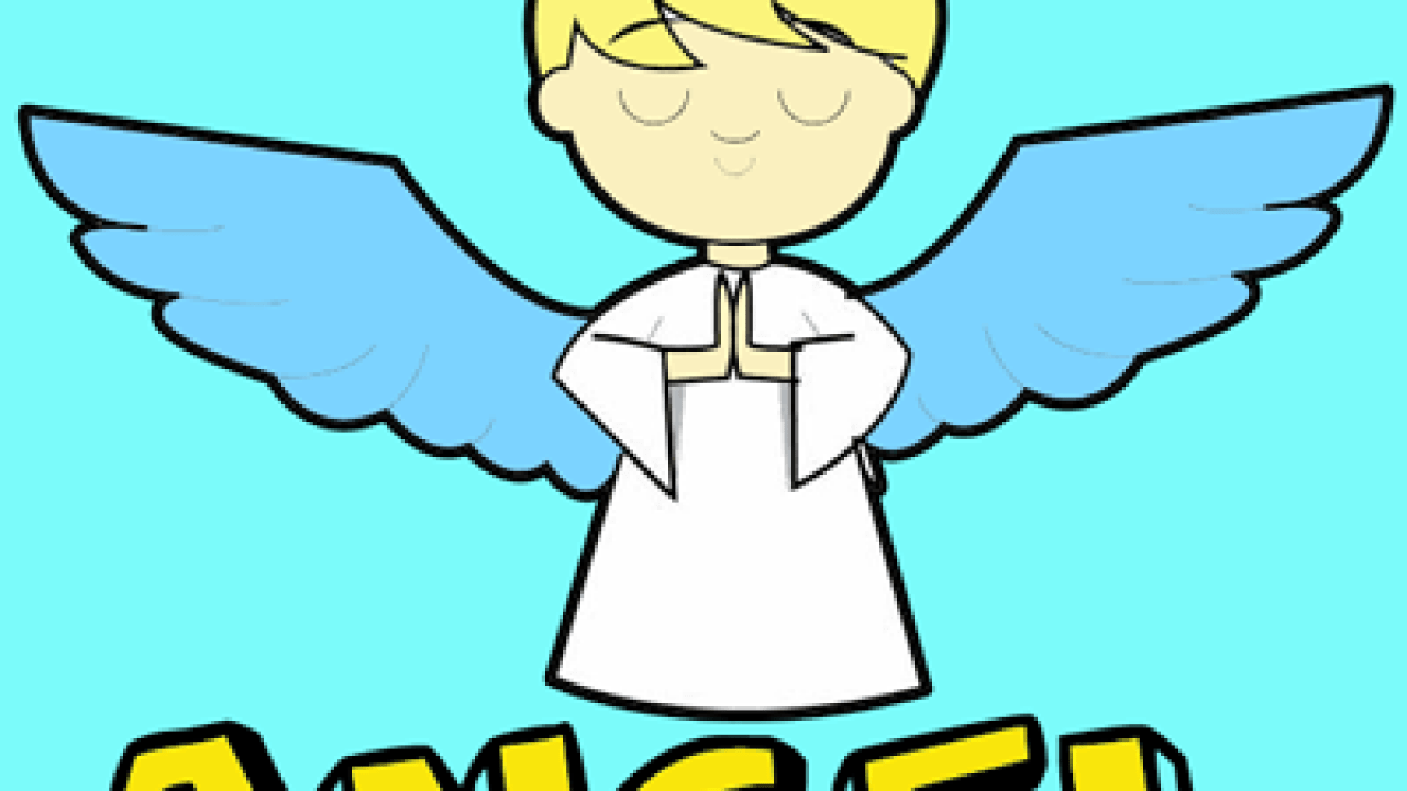 How To Draw Cartoon Angels In Easy Step By Step Drawing Tutorial How To Draw Step By Step Drawing Tutorials