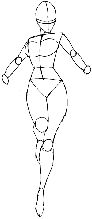 Superhero Easy Ideas Female Costume Draw