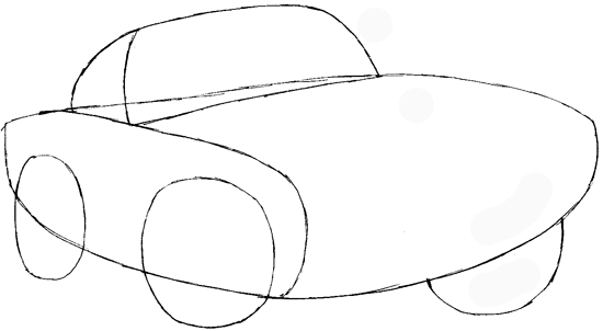 How to Draw Finn Mc Missile from Pixar's Cars with Easy ...