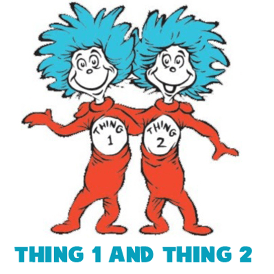 How To Draw Thing One And Thing Two From Dr Seuss The Cat In The Hat How To Draw Step By Step Drawing Tutorials