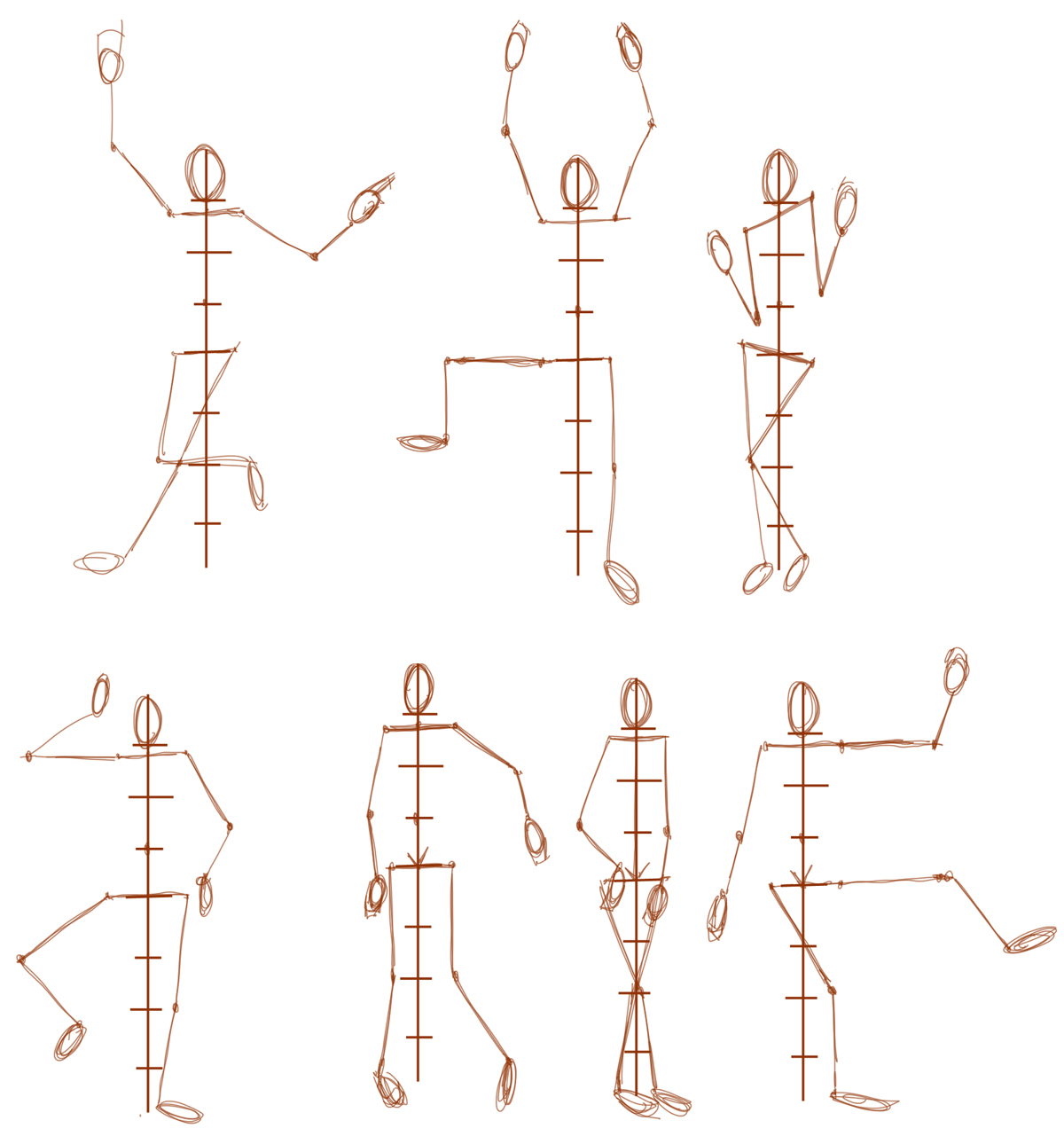 Learn How To Draw Human Figures In Correct Proportions By