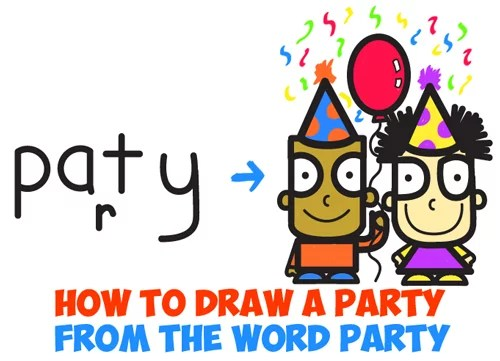 Birthday Archives How To Draw Step By Step Drawing Tutorials