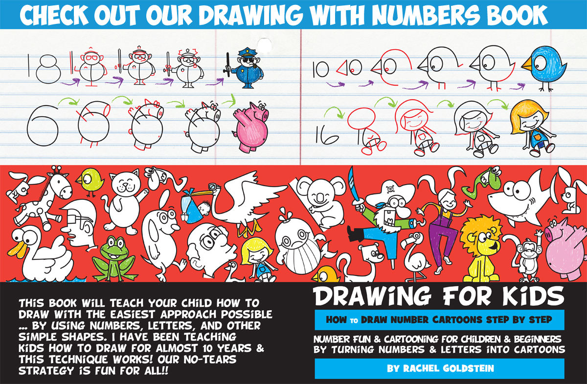How To Draw A Cartoon Chicken Rooster From And