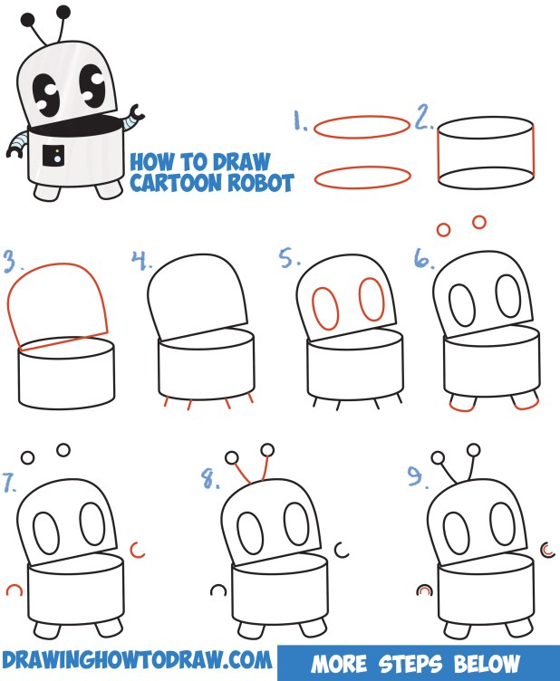 How to draw a cartoon step by for beginners for How to draw a perfect star shape