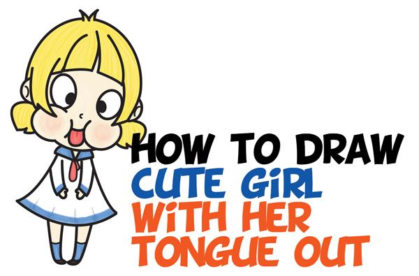 Kawaii Girl Drawings Easy Kawaii Girls Pesquisa Google