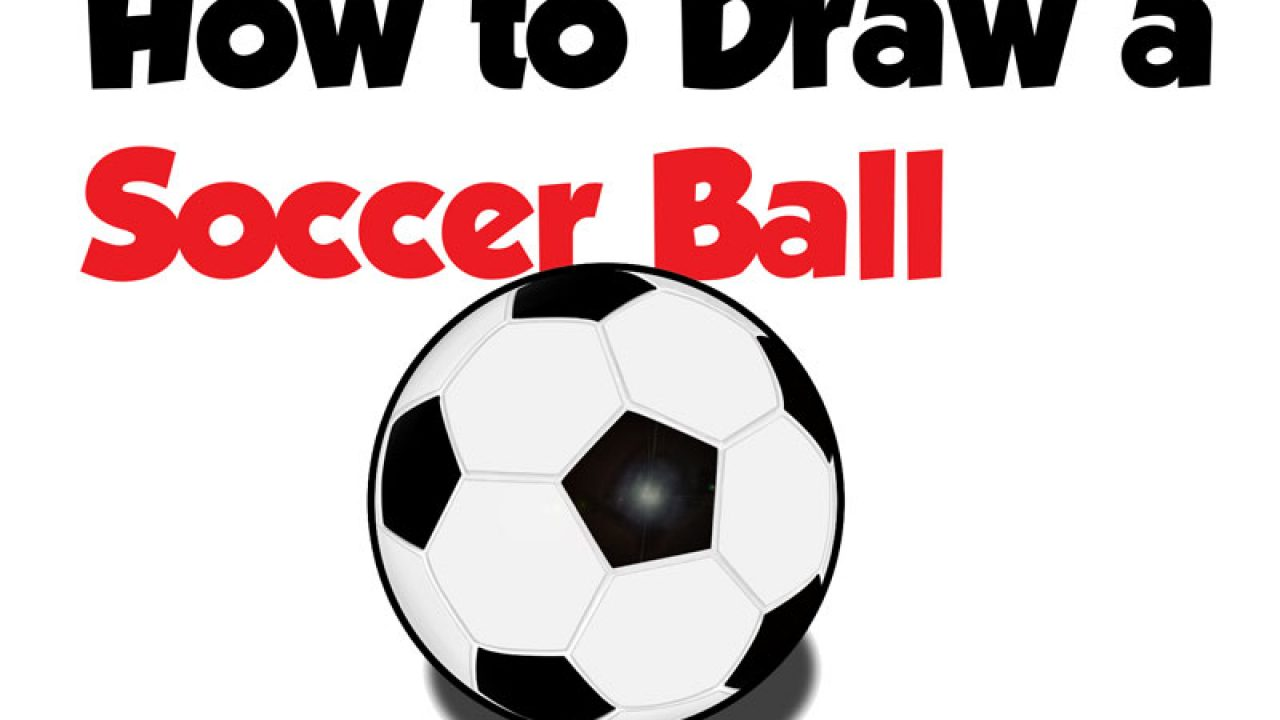 How To Draw A Soccer Ball Easy Step By Step Drawing Tutorial For Beginners How To Draw Step By Step Drawing Tutorials