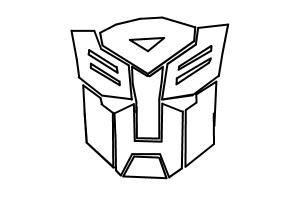 Transformers Logo Drawing By Teresa Arazo Drawingnow