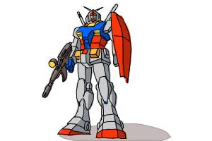 How To Draw The Rx 78 2 Gundam DrawingNow