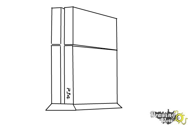 How To Draw Playstation 4 Ps4 DrawingNow