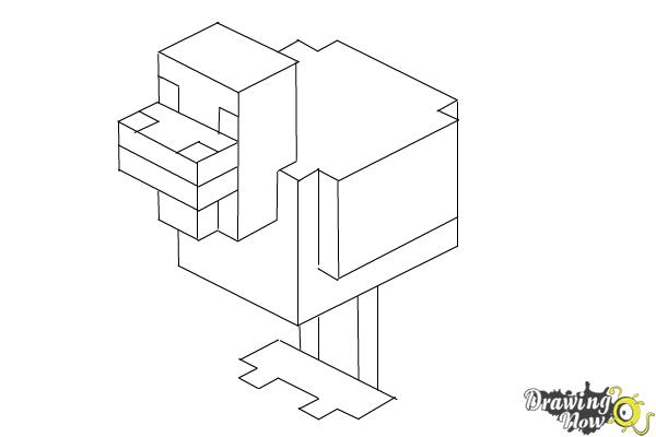People Minecraft Coloring Pages
