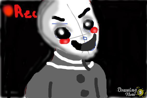 Fnaf Puppet DrawingNow
