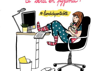 Lundi-de-pentecôte-Work-Travail-Pyjama-Illustration-by-Drawingsandthings