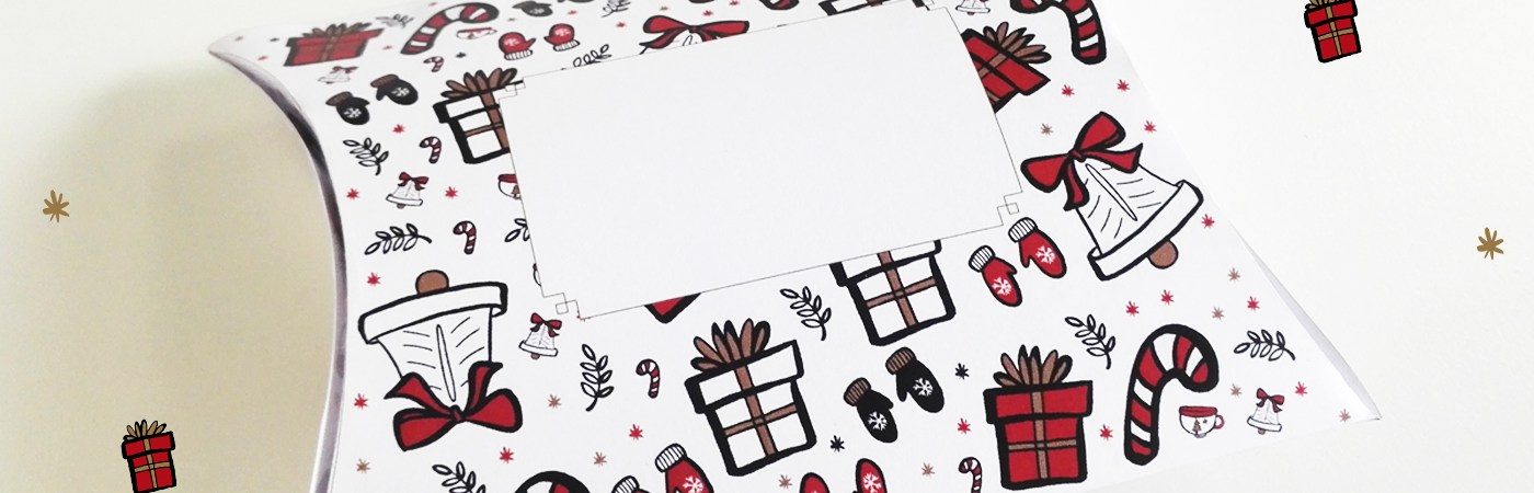 Une boite cadeau à télécharger sur Drawings and things