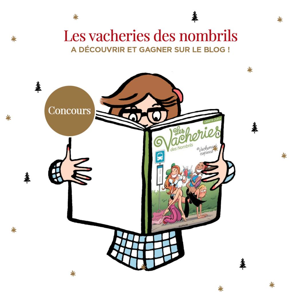 """Découvrez la bande dessinée """"Les vacheries des nombrils"""" + Concours sur Drawings and things"""