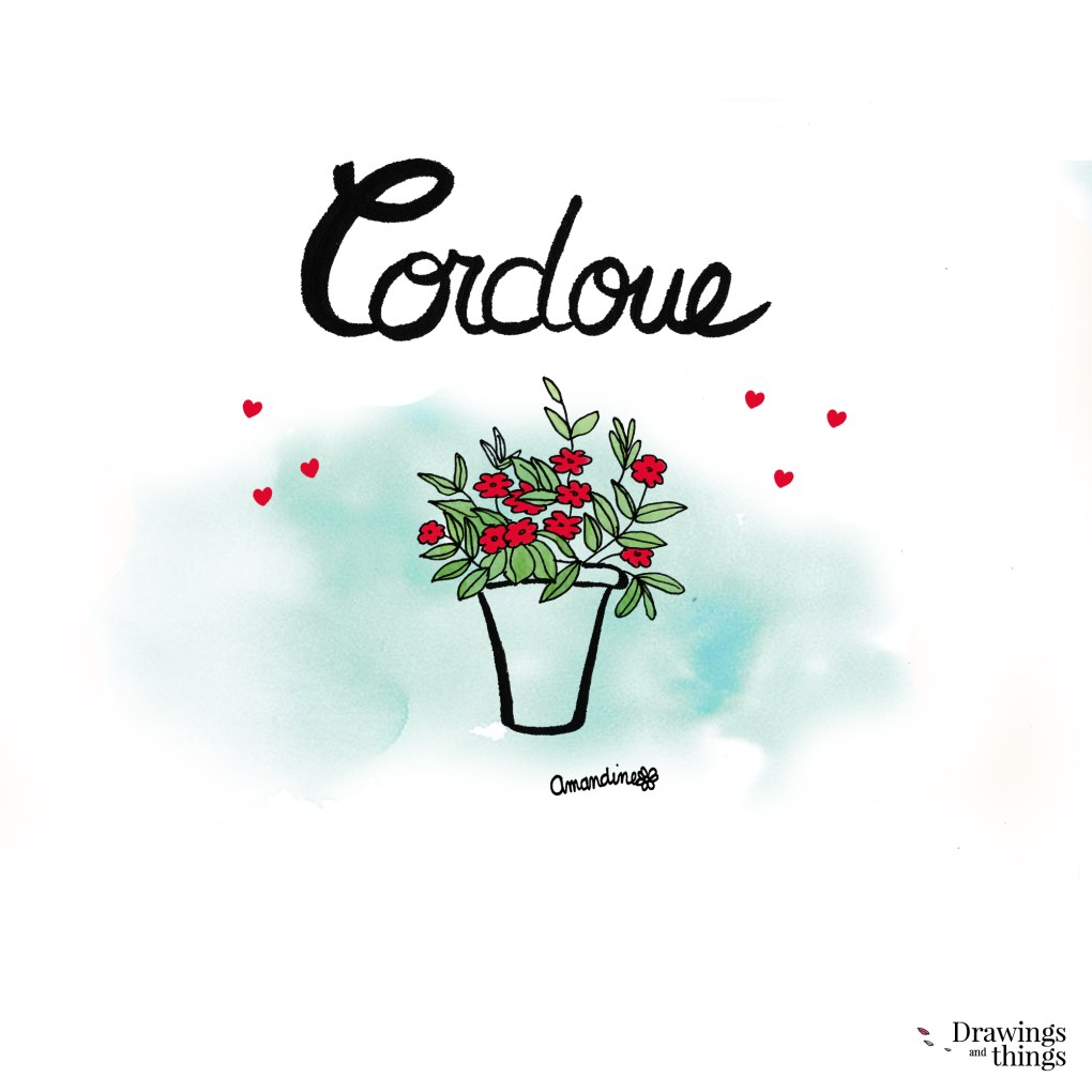 Cordoue en Andalousie by Drawingsandthings