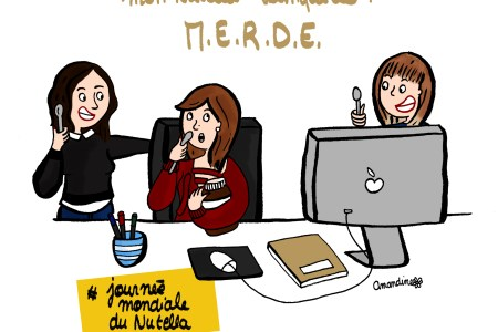 la journée du nutella - Illustration by Drawingsandthings