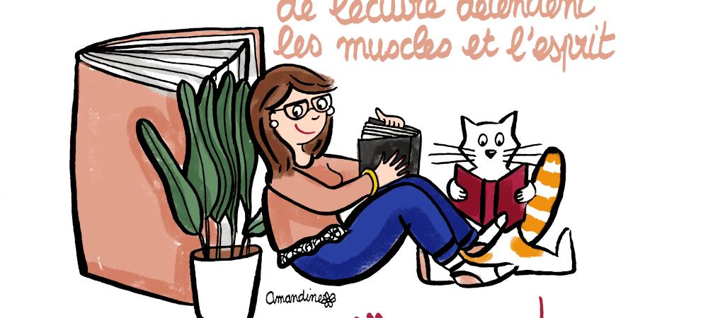 6 minutes de lecture : c'est bon pour la santé - Illustration-by-Drawingsandthings