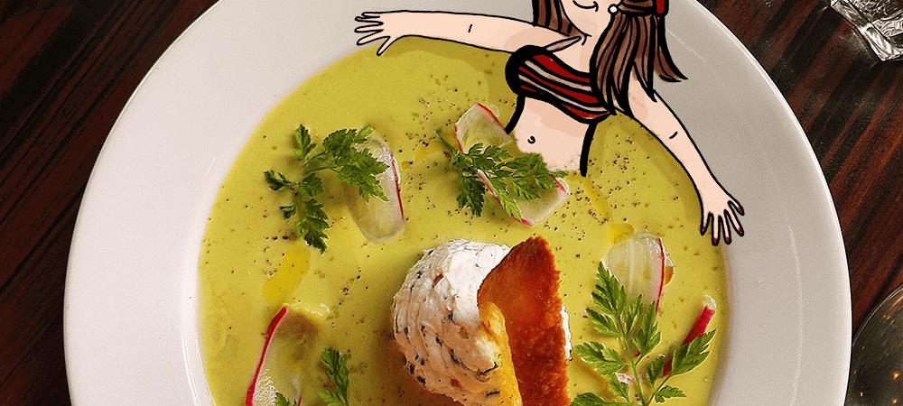 Après les fêtes, je me mets au régime soupe _ Illustration by Drawingsandthings, un blog lifestyle illustré