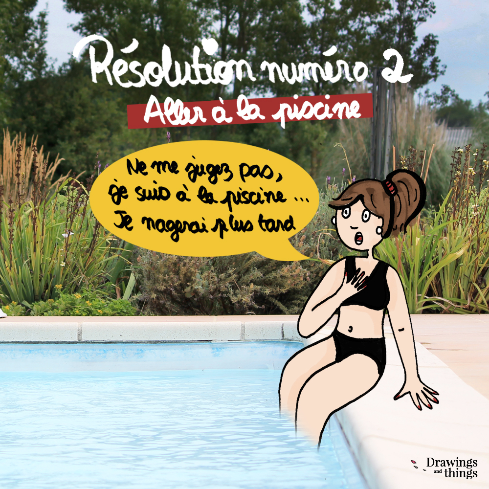 Résolutions-2019_Aller-a-la-piscine-Illustration-by-Drawingsandthings