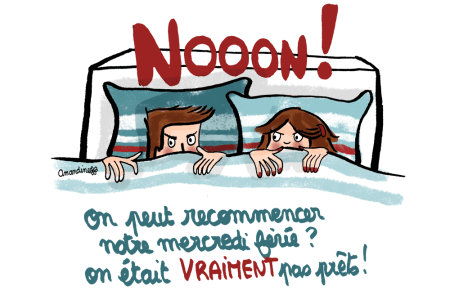 Recommencer-le-mercredi-ferie-on-etait-pas-prets_Illustration-by-Drawingsandthings