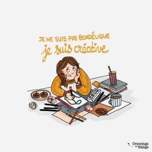 je-ne-suis-pas-bordelique-je-suis-creative-Illustration-by-Drawingsandthings