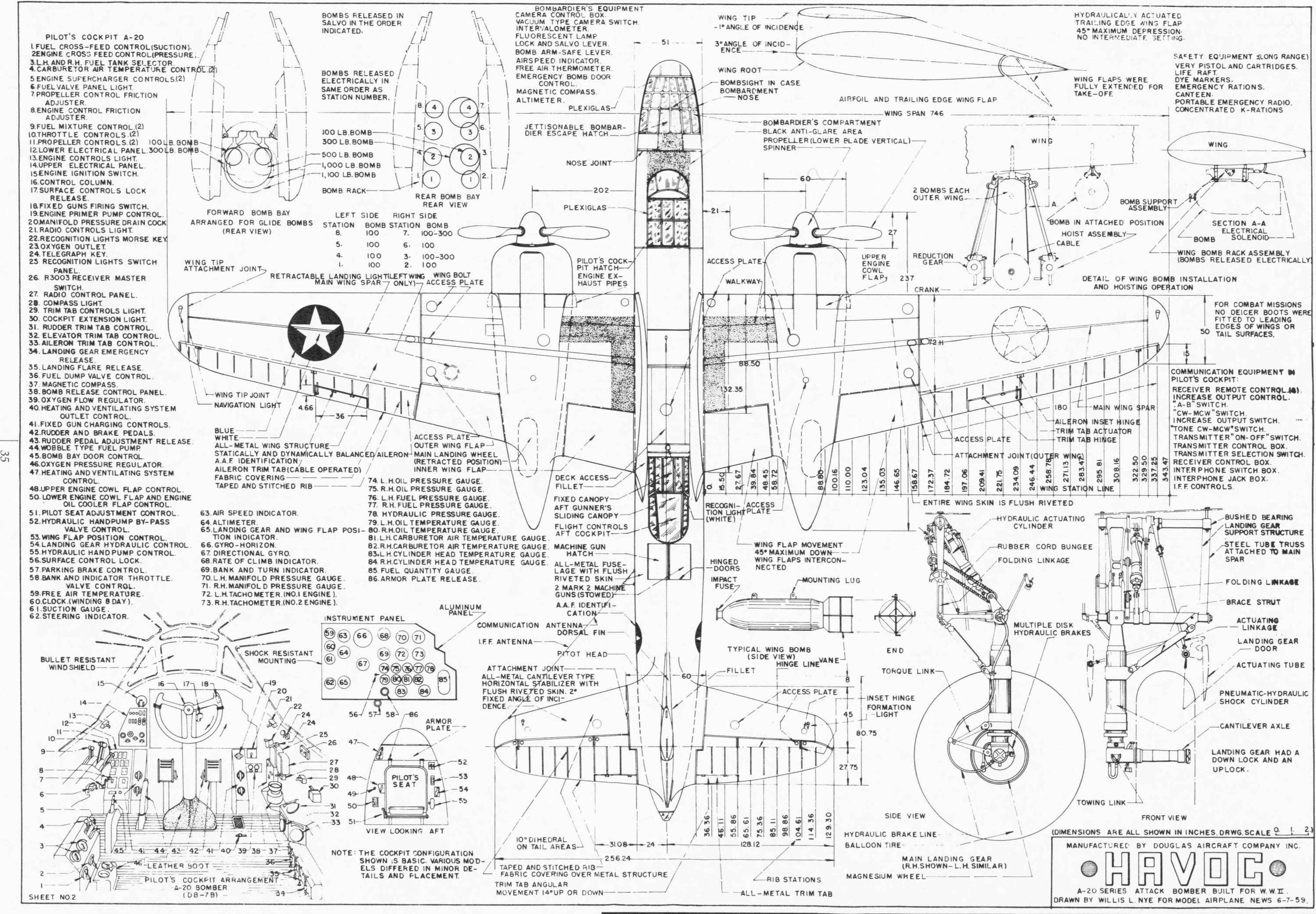 Aircraft Engineering Image Drawing