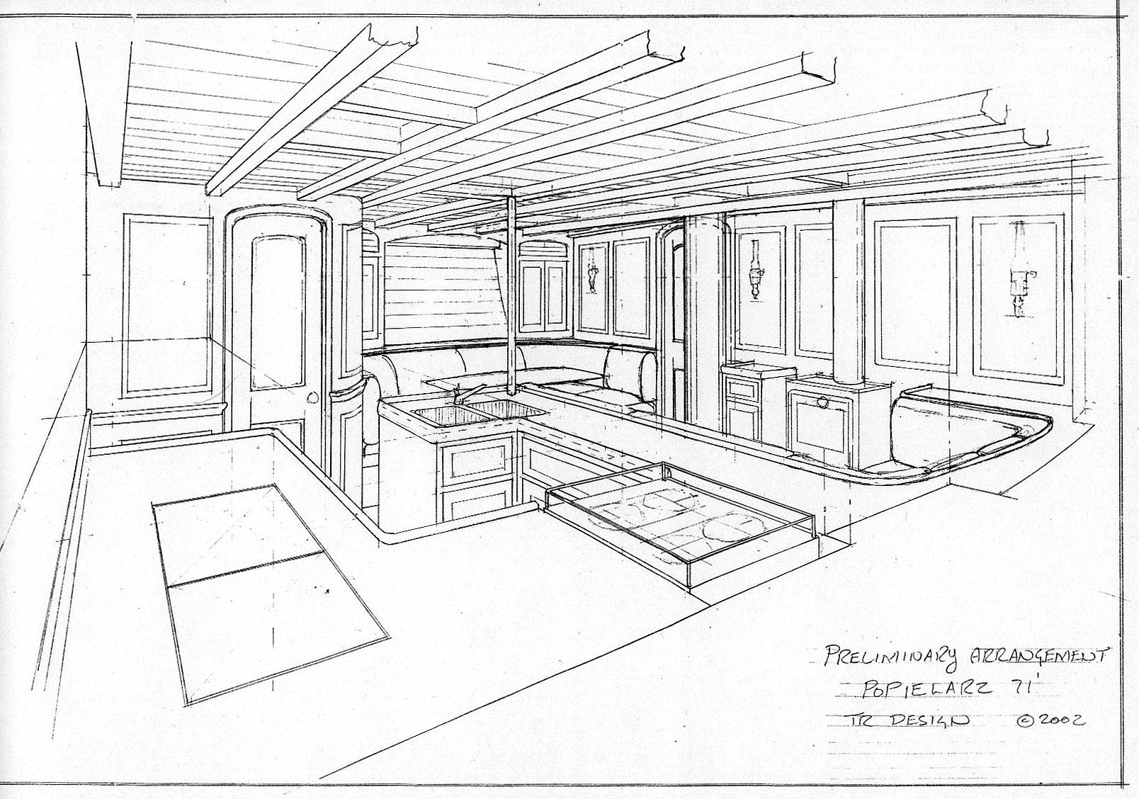 Interior Design Picture Drawing