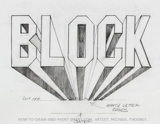 March 1st: Block Letters – FCS ART BLOG