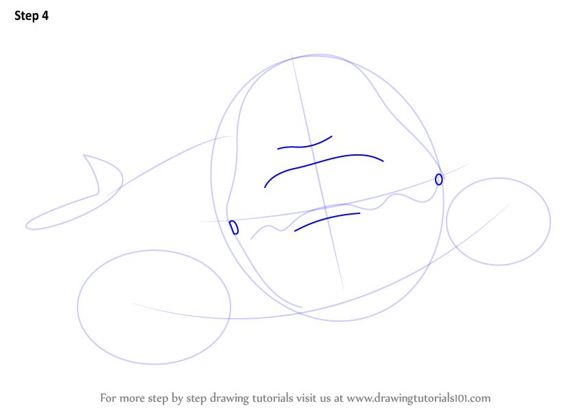 Step By Step How To Draw A Beluga Whale