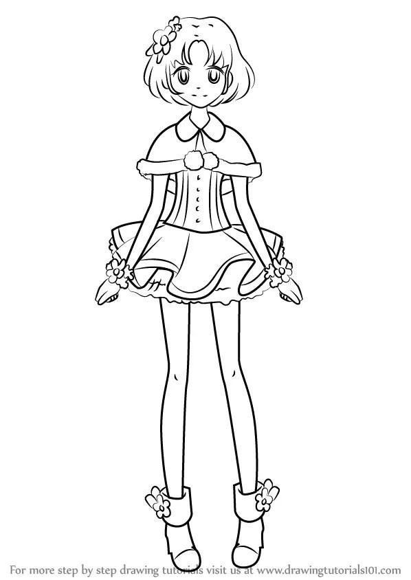 Learn How To Draw Sakura Kitaoji From Aikatsu Aikatsu