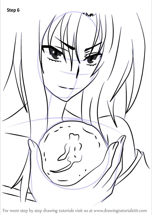 Learn How To Draw Kuroka From High School DxD High School