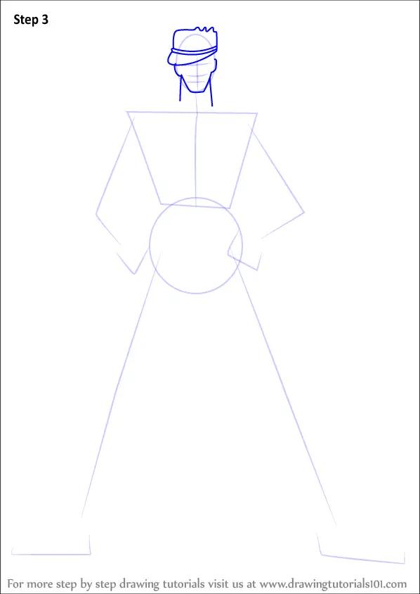 Learn How To Draw Jotaro Kujo From Jojo JoJos Bizarre
