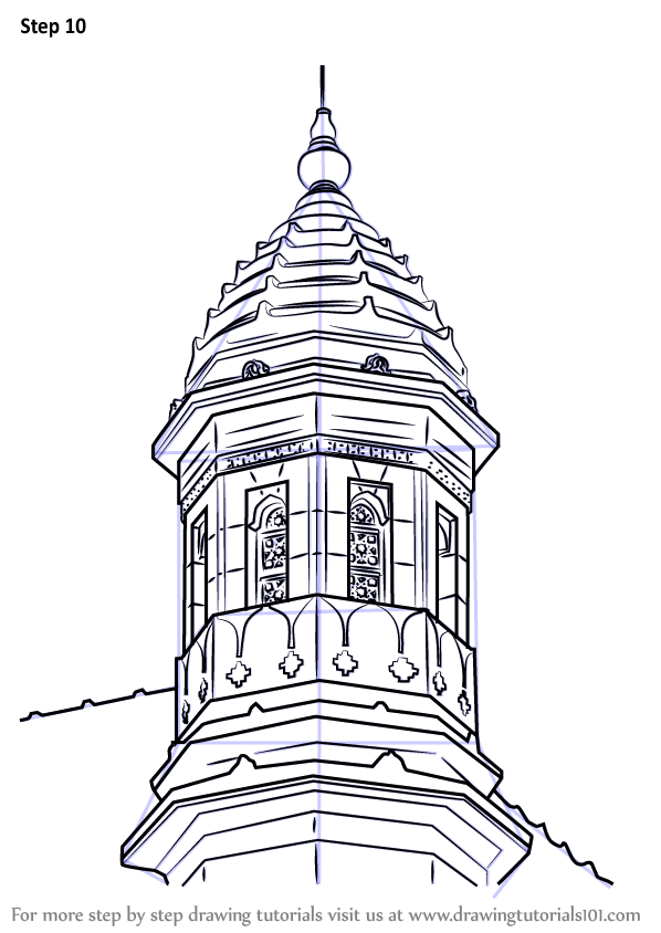 Lighthouse Drawing Architecture