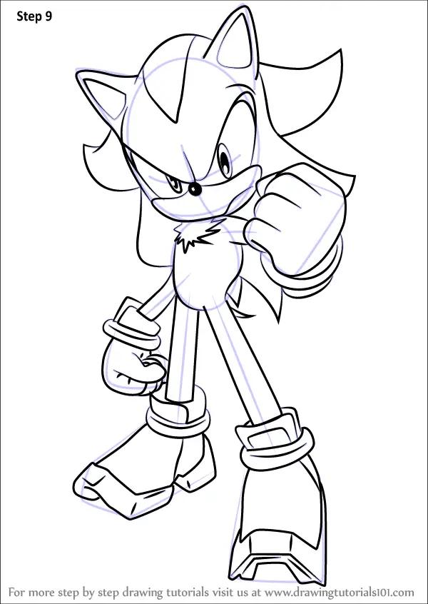 Shadow Cool Drawings Hedgehog